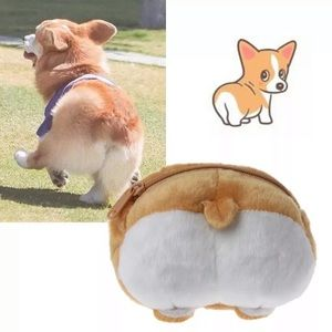 Handbags - Corgi Butt cute bag, corgi dog, purse NEW